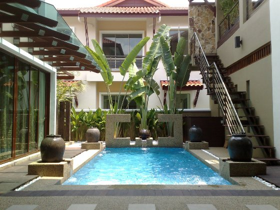 Luxury property malaysian properties for Koi fish pond design in malaysia